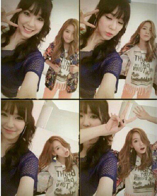 Tiffany đón sinh nhật cùng SNSD 1