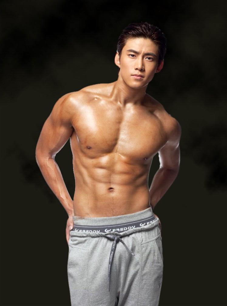 Korean male topless babes