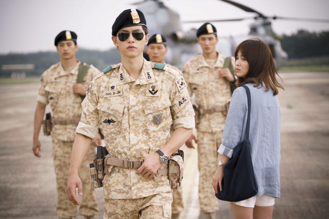 Song JoongKi at Descendants of the Sun