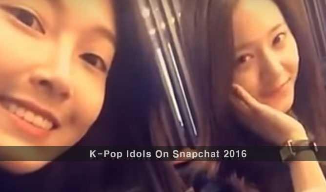 K-Pop-Idols-On-Snapchat-2016-Usernames-To-Follow