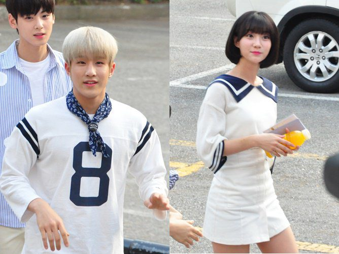 1. ASTRO's JinJin & Oh My Girl's Binnie
