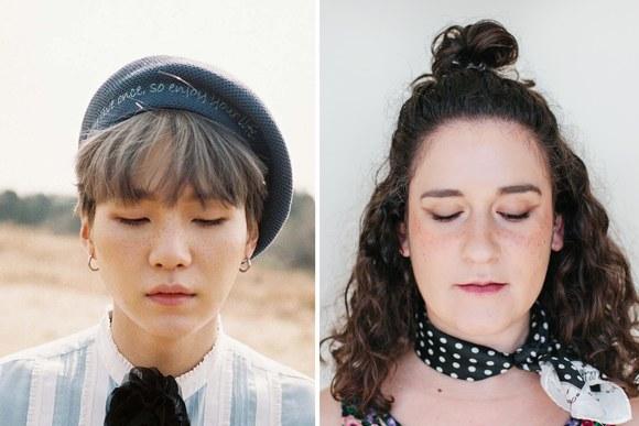 мода кореи я целую неделю делала макияж в стиле Bts K Pop