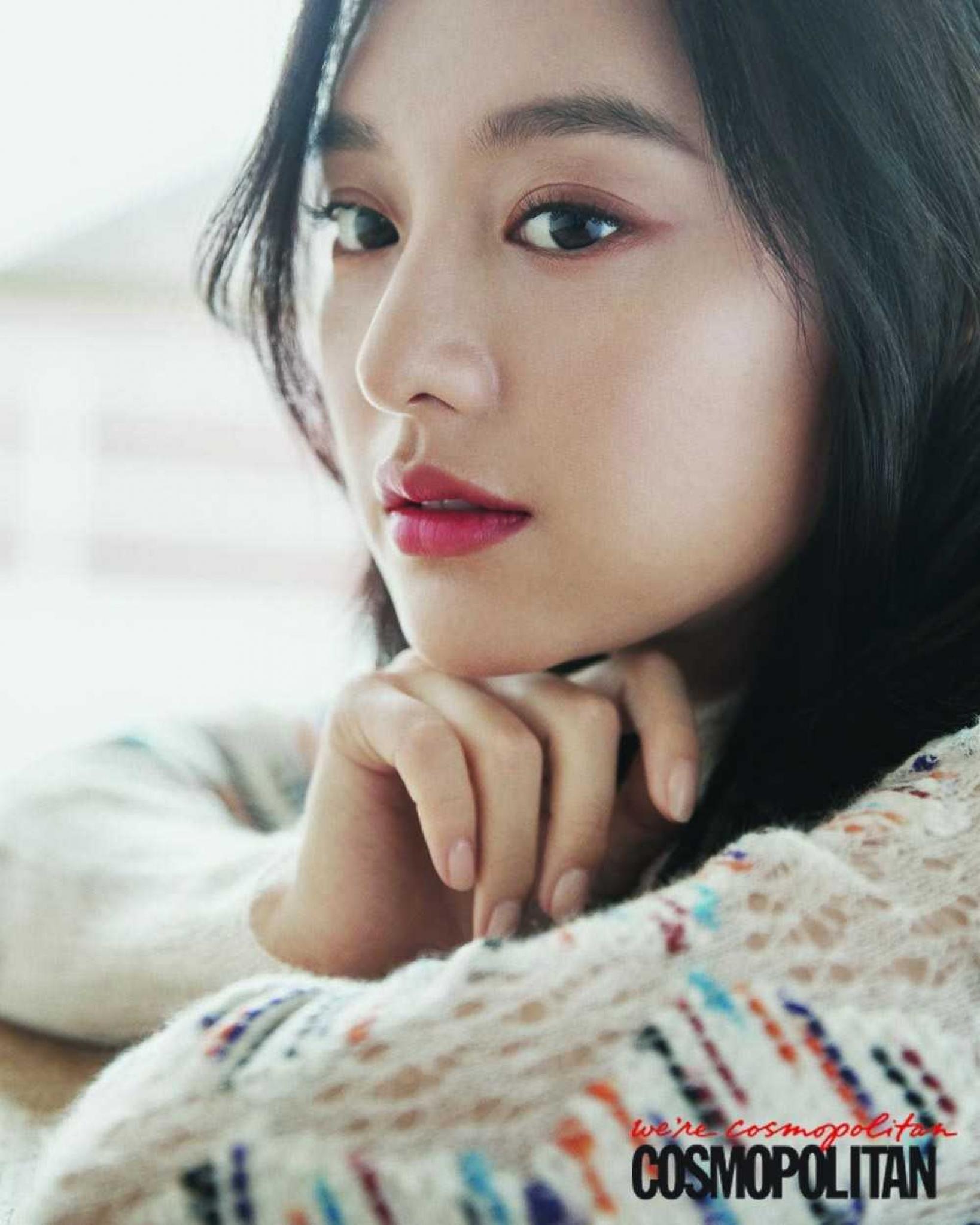 ИНТЕРВЬЮ] Ким Джи Вон для февральского выпуска Cosmopolitan 2018 - K-POP