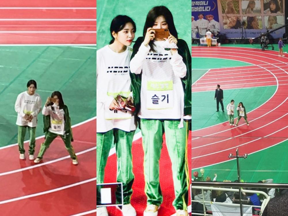 Red Velvet и NCT показывают поддержку во время «ISAC 2019