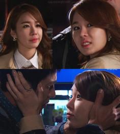 Former miss korea kim yoo mi looks absolutely charming in the bottom left photo